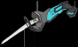 レシブロソー(電気ノコギリ)|解体工事の道具